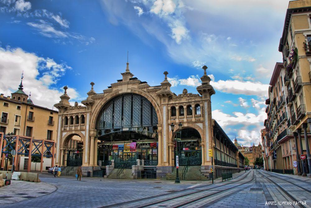 Arte y paisaje sonoros. Mercado Central (Zaragoza)