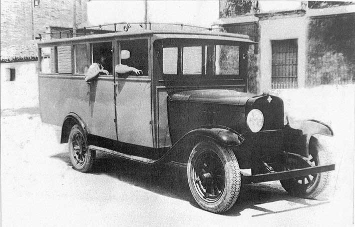 Autobús a San José 1934