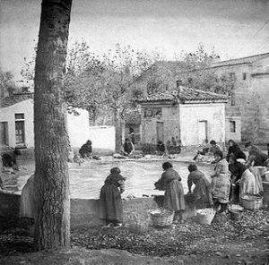 La Balseta_ ca. 1925 _ Foto_ Jesús Cormán. Imagen del lavad…