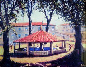 La Balseta_ 1961 _ Dibujo de _la Balseta_ realizado por Lui… _