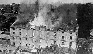 Tudor 1935 - Incendio.
