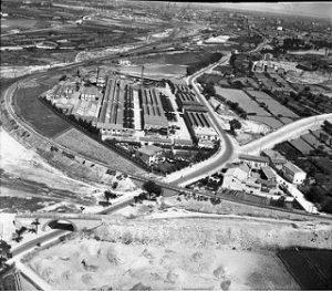 Tudor 1953 _ Aérea vista de la Factoría de la Sociedad Españ… _ Flickr_files