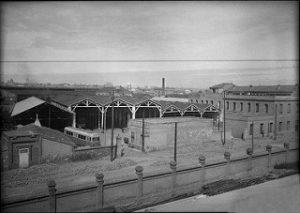 4-Cocheras Tranvía 1946 _ Imagen en altura de las cocheras de … _ Flickr_files