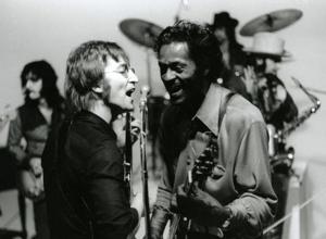 Chuck Berry con Lennon