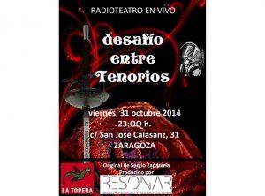 cartel TENORIOS 2 - Topera-web