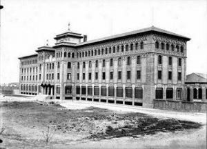 Camino de las Torres 1935 - fachada principal Agustinos
