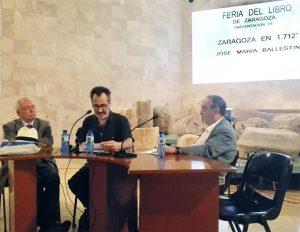 Presentacion libro José María Ballestín
