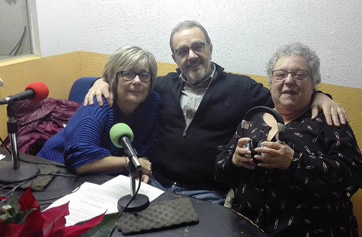 Lola, Manuel, Chus - diciembre 2017