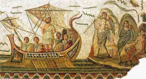 Viaje de Ulises a Ítaca