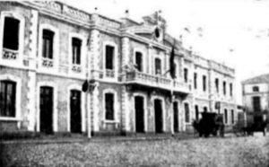 Estación de Utrillas 1904