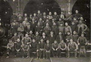 Estación de Utrillas 1917
