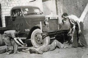 Estación de Utrillas 1943