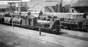 Estación de Utrillas 1960