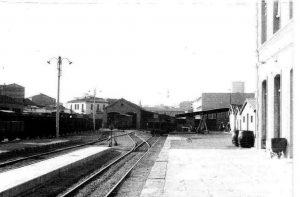 Estación de Utrillas Ca.1960