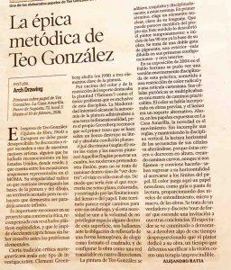 Teo González-Crítica de Alejandro Ratia
