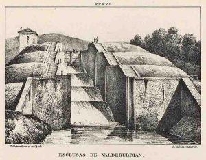 Esclusas de Valdegurriana 1833 _ _Esclusas de Valdegurrian