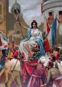 Fiesta de la diosa Razón (Lit. Felipe G.Rojas)