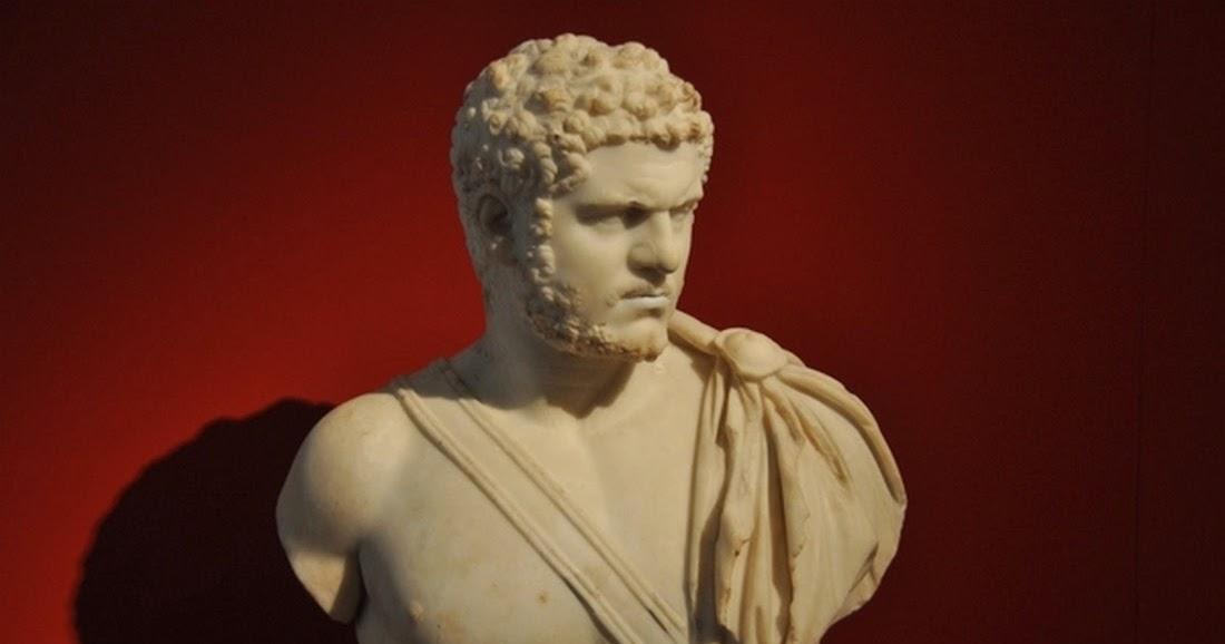 Busto de Caracalla - Altes Museum (Berlín)