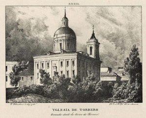 Iglesia de San Fernando 1833 - Yglesia de Torrero