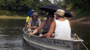 Mikel R. Nieto - Captando sonidos por el Amazonas