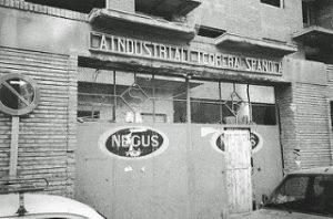 La Licorera - 1988 Acceso a las instalaciones