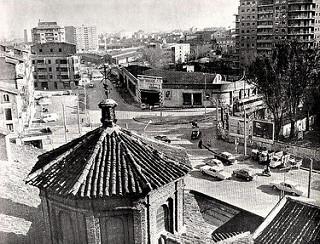 Puente de San José 1969 _ Desde la última planta del nº 5 de…