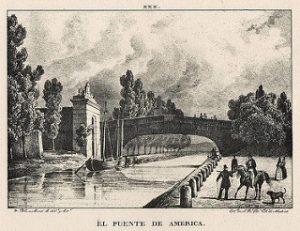 Puente de América 1833