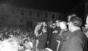 Peregrinación gitana - Cuartel de Castillejos 1968