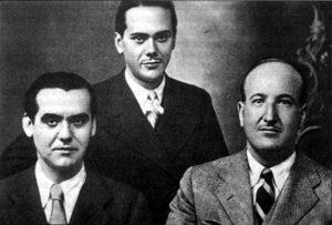 Lorca, Cernuda y Alleixandre
