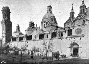 Plaza del Pilar 1890