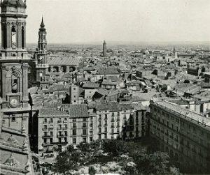 Plaza del Pilar 1932