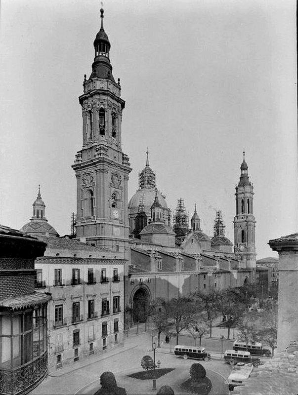 Plaza del Pilar 1936
