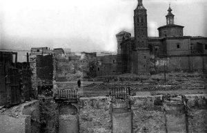 Plaza del Pilar 1941