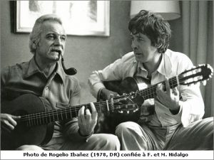 Georges Brassens con Paco Ibañez-2