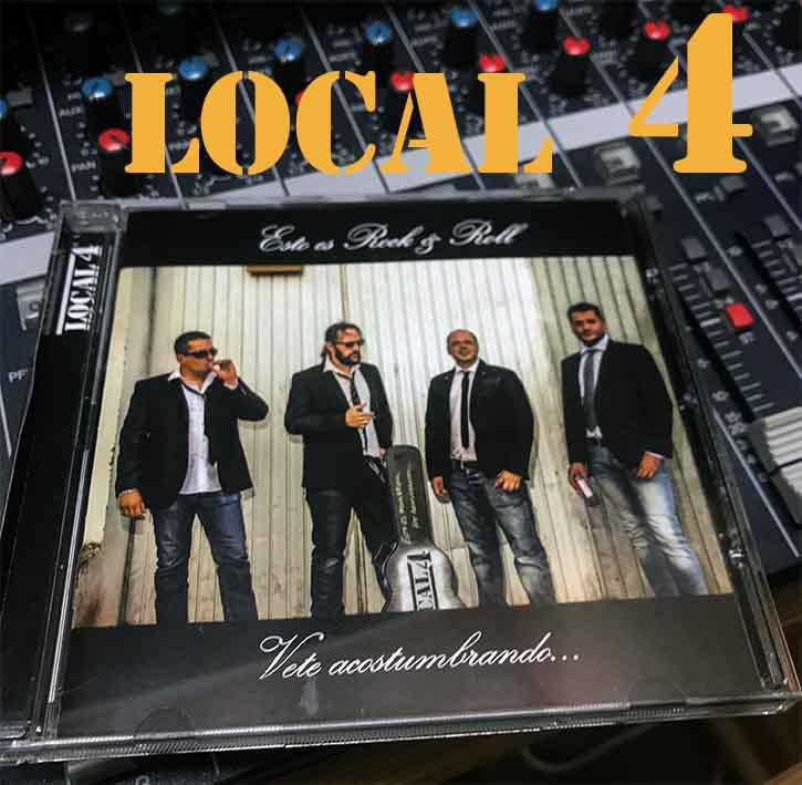 Nada más que música – Entrevista a LOCAL 4