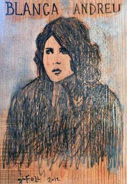 """Blanca Andreu: """"Una niña de provincias que se vino a vivir en un Chagall"""""""
