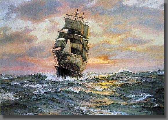 José de Espronceda – Canción del Pirata.