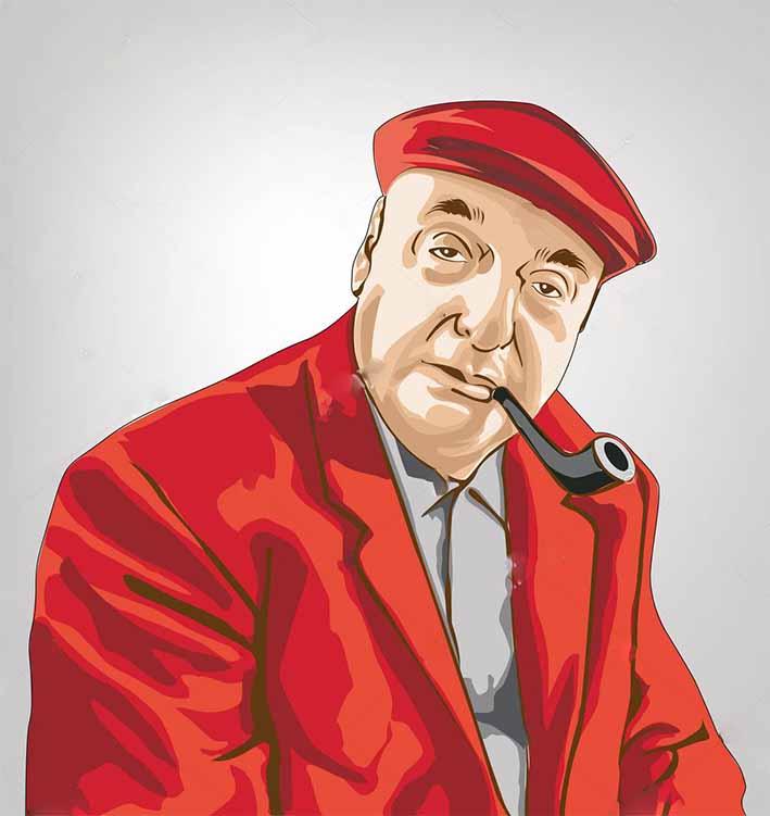 Nada más que libros – Pablo Neruda