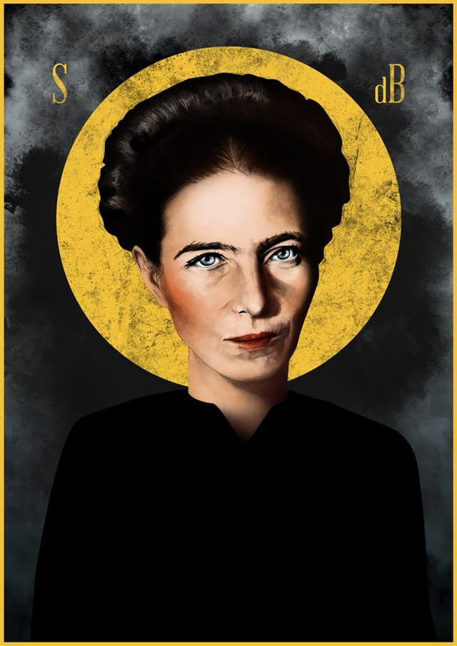 Nada más que libros – Simone de Beauvoir