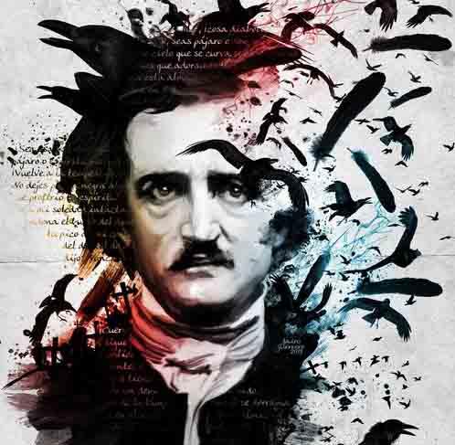 Nada más que libros – Edgar Allan Poe. El genio maldito