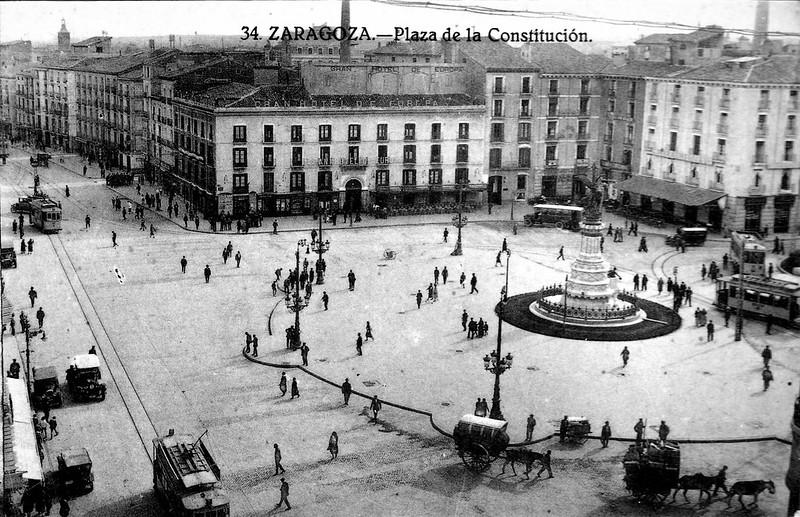 1926 - Plaza de la Constitución
