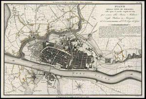1809 - Plano de Zaragoza