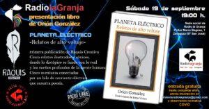 0-Cartel presentación LIBRO PLANETA ELECTRICO