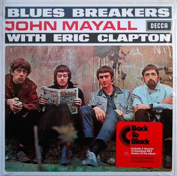 ALBUM - Bluesbreakers With Eric Capton y john mayall