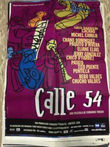 cartel calle 54