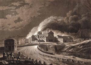 1808 - Convento de San José incendiado por los franceses