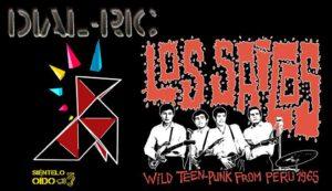 cartel DIAL RIC-4 - Los Saicos