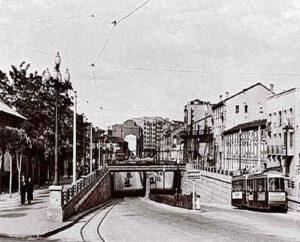 1960 - paso nivel Las Delicias