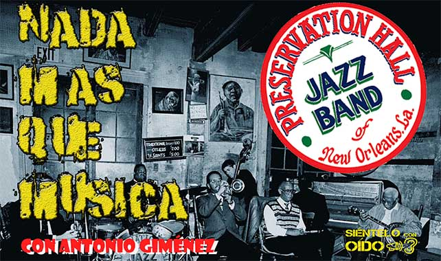 Nada más que música – Preservation Hall Jazz Band – 'Because of you'