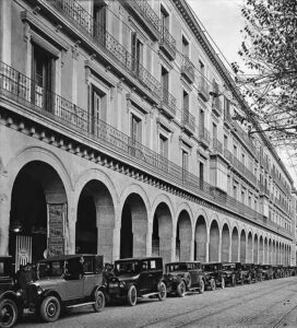 1931 - Paseo Independencia con coches